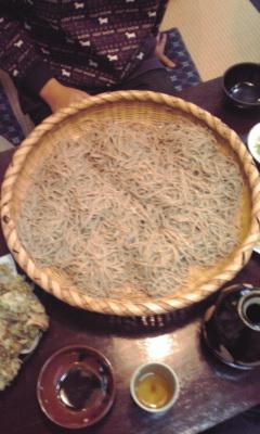 いづるやのお蕎麦