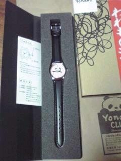 Yonda?CLUBの時計