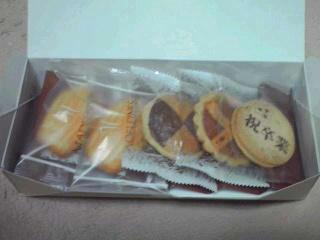 卒業式のお菓子