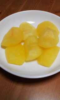 りんごのレモンスカッシュ煮